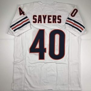Gale Sayers Chicago White Football Jersey
